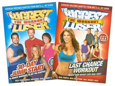 The Biggest Loser - 30 Day Jump Start / Last Chance Workout (2 Pack) (Boxset) DVD Movie