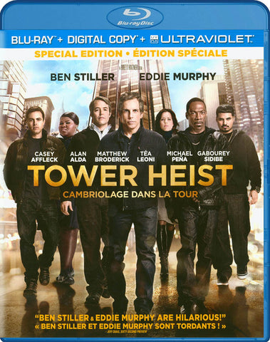 Tower Heist (Blu-ray + Digital Copy + UltraViolet) (Bilingual) DVD Movie