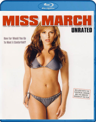 Miss March (Unrated Fully Exposed Edition) (Blu-ray) BLU-RAY Movie