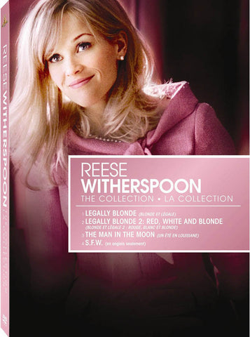 The Reese Witherspoon Collection: Legally Blonde / Legally Blonde 2 / Man In The Moon / S.F.W (Boxse DVD Movie