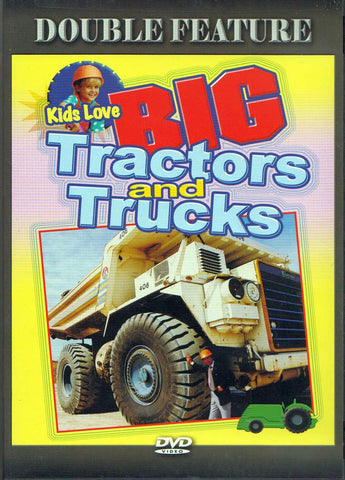 Big Tractors And Trucks (Double Feature) DVD Movie