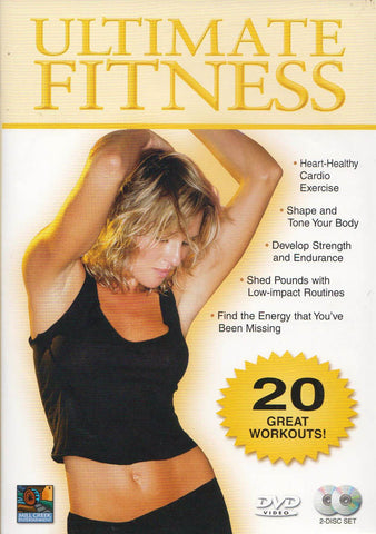 Ultimate Fitness Collection (20 Workouts) (Boxset) DVD Movie