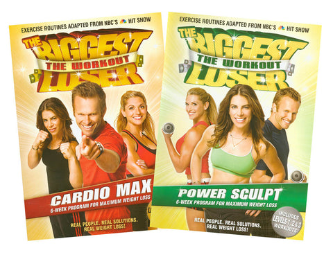 The Biggest Loser 2 DVD Set (Cardio Max / Power Sculpt) (2 Pack) (Boxset) DVD Movie