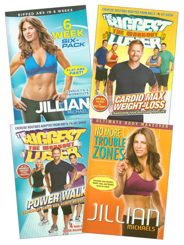 Fitness 4 DVD Set(4-pack) (boxset) DVD Movie