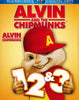 Alvin and the Chipmunks 1, 2 and 3 (Blu-ray / DVD / Digital Copy) (Boxset) (Bilingual) DVD Movie