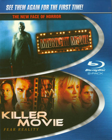 Midnight Movie / Killer Movie (2-Pack) (Blu-ray) BLU-RAY Movie