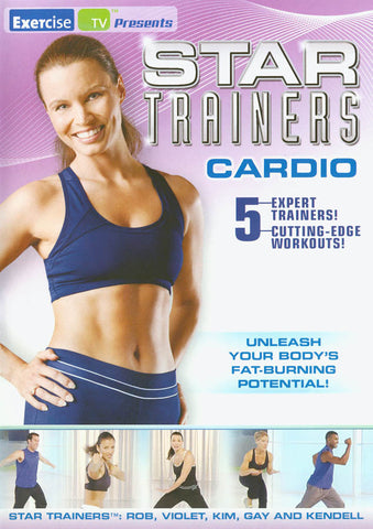 Star Trainers - Cardio (MAPLE) DVD Movie