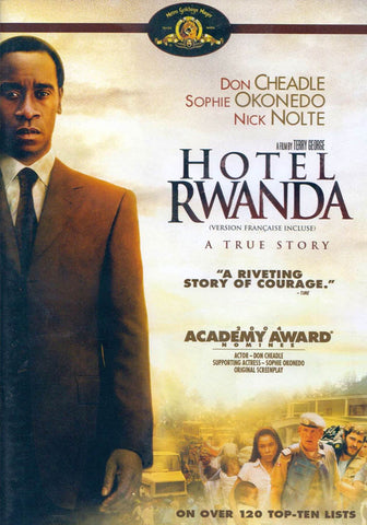 Hotel Rwanda (Bilingual) DVD Movie