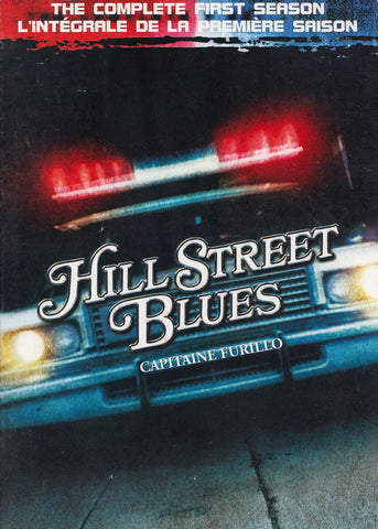 Hill Street Blues - Season 1 (Boxset) (Bilingual) DVD Movie
