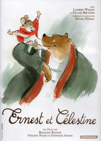 Ernest et Celestine DVD Movie