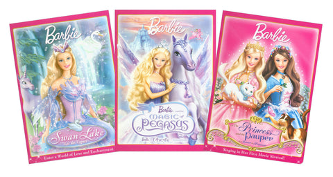 Barbie Collection # 3 DVD Movie