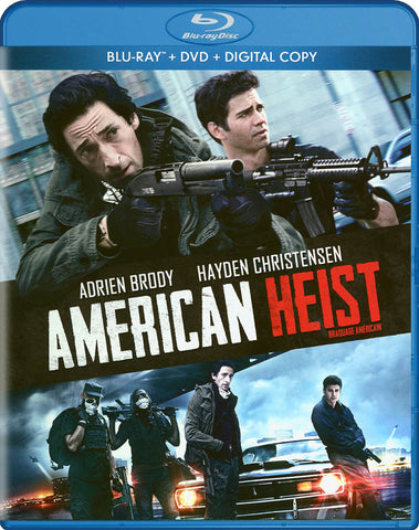 American Heist (Blu-ray + DVD + Digital Copy) (Bilingual) DVD Movie