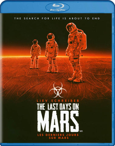 The Last Days On Mars (Blu-ray) (Bilingual) BLU-RAY Movie