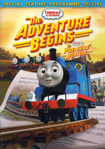 Thomas & Friends - The Adventure Begins (Bilingual) DVD Movie
