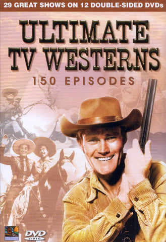 Ultimate TV Westerns - 150 Episodes (Boxset) DVD Movie