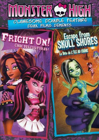 Monster High - Fright On! / Escape From Skull Shores (Bilingual) DVD Movie