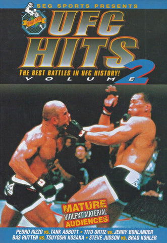 UFC Hits - Vol 2 (Best Battles in UFC History!) (LG) DVD Movie
