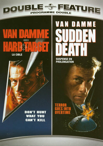 Hard Target / Sudden Death (Double Feature) (Bilingual) DVD Movie