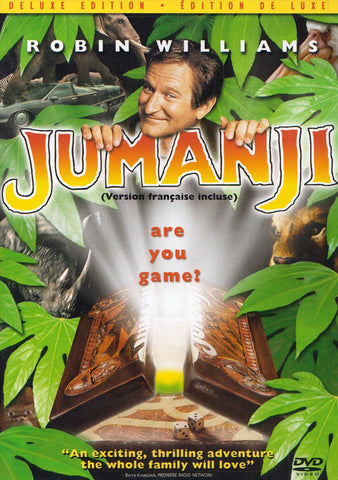 Jumanji (Deluxe Edition) (Bilingual) DVD Movie