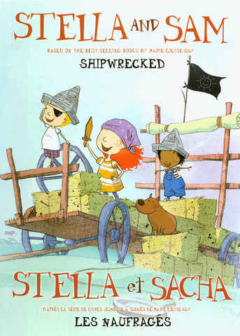 Stella and Sam - Shipwrecked (Bilingual) DVD Movie