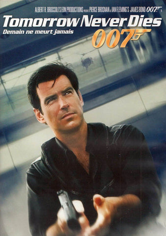 Tomorrow Never Dies (Black cover) (James Bond) (Bilingual) DVD Movie