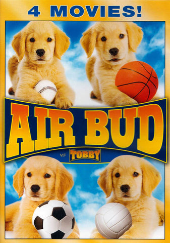 Air Bud Set (4 Movies) / Tobby (Bilingual) DVD Movie