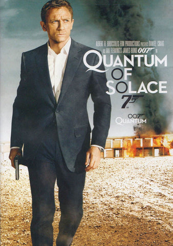 Quantum of Solace (James Bond) (Bilingual) DVD Movie
