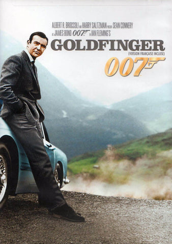 Goldfinger (New Cover) (James Bond) (Bilingual) DVD Movie