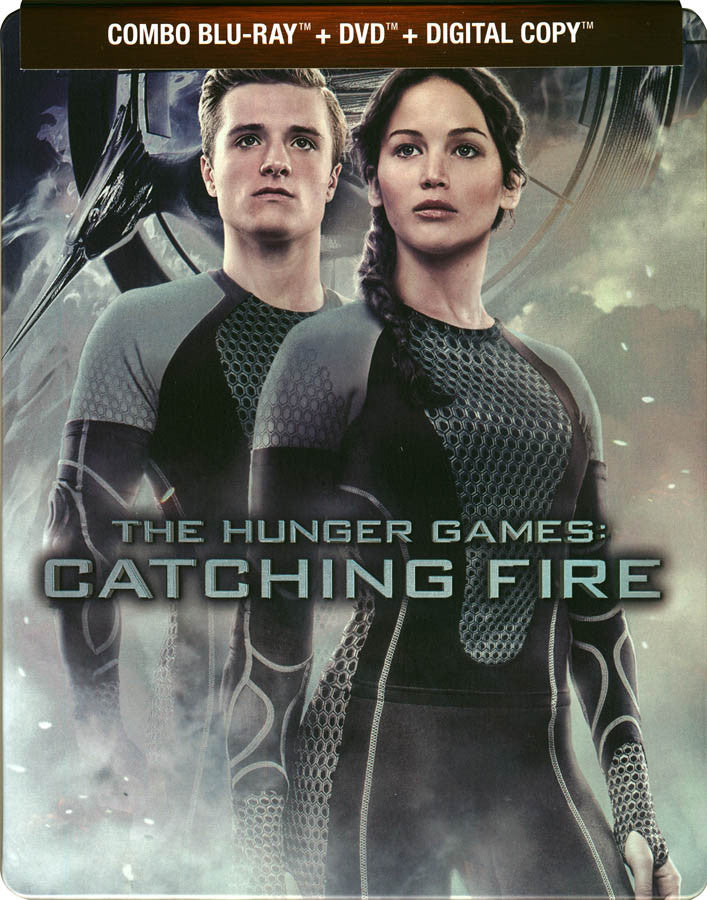The Hunger Games - Catching Fire (Blu-ray + DVD + Digital ...
