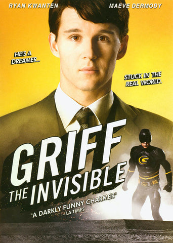 Griff the Invisible DVD Movie