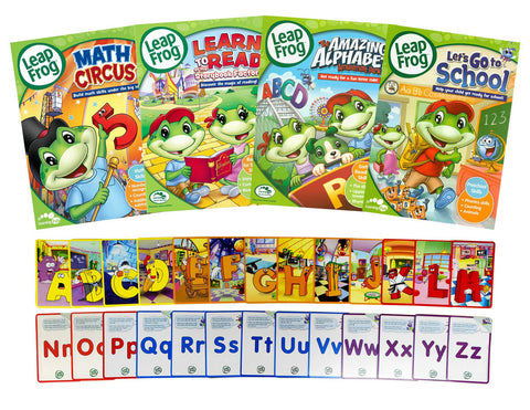 Leap Frog Learning Pack # 3 (Bonus Flashcards) (Boxset) DVD Movie