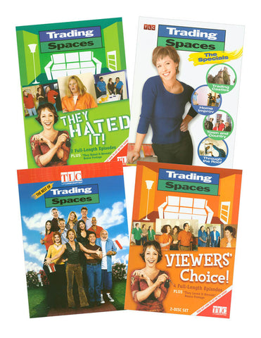 Trading Spaces 4 pack (Boxset) DVD Movie