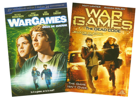 WarGames / WarGames: The Dead Code (Double Pack) DVD Movie