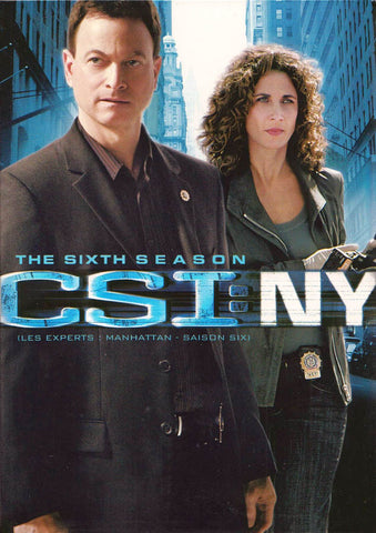 CSI New York - Season Six (6) (Boxset) (Bilingual) DVD Movie
