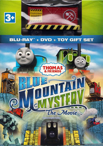 Thomas & Friends: Blue Mountain Mystery - The Movie (Blu-ray+DVD+Toy Gift Set) (Boxset) (Bilingual) DVD Movie