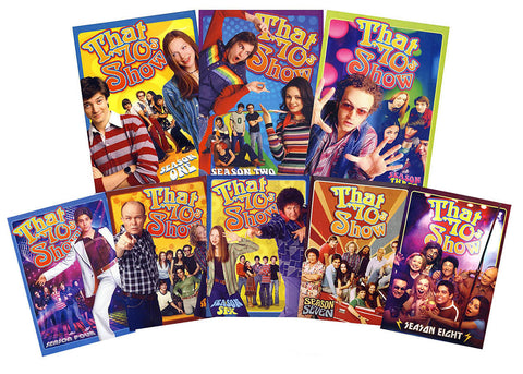 That  70s Show (Seasons 1-8) Boxset DVD Movie
