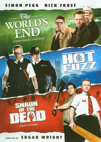 World s End / Hot Fuzz / Shaun of the Dead ( Triple Feature ) (Bilingual) DVD Movie