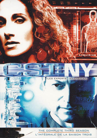 CSI: NY - The Complete Third (3) Season (Bilingual) (Keepcase) (Boxset) DVD Movie
