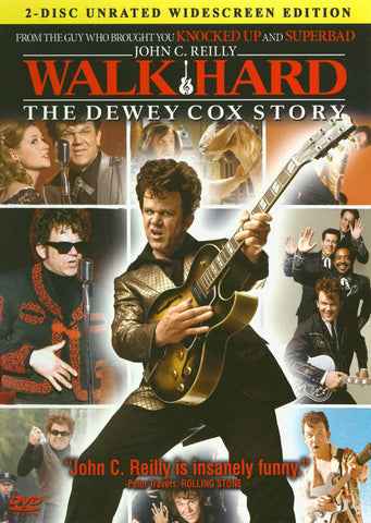 Walk Hard - The Dewey Cox Story (Two-Disc Urated Widescreen Edition) DVD Movie