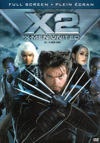 X2 - X-Men United (Full Screen Edition) (Bilingual) DVD Movie