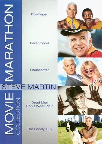 Steve Martin - Movie Marathon Collection (Boxset) (CA version) DVD Movie