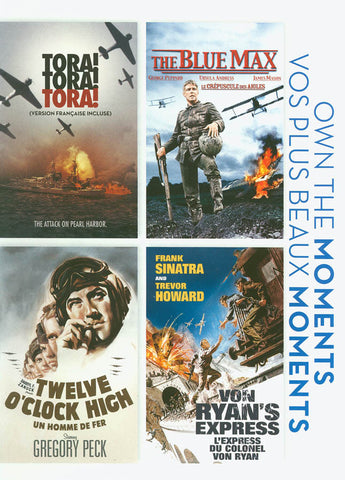 Tora! Tora! Tora! / The Blue Max / Twelve O clock / Von Ryan s Express DVD Movie