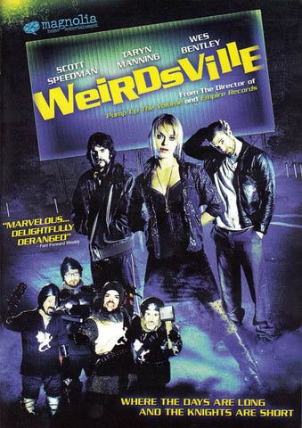 Weirdsville (Blue Cover) DVD Movie