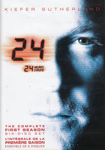 24 - The Complete First Season (Six - Disc Set) (Bilingual) DVD Movie