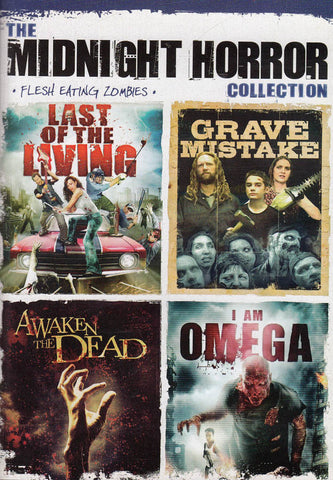 The Midnight Horror Collection - Flesh Eating Zombies DVD Movie