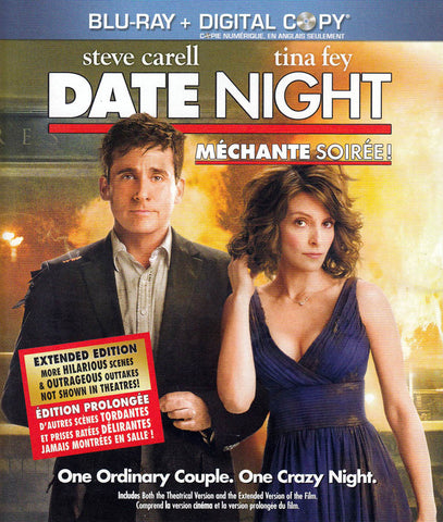 Date Night (Blu-ray + Digital Copy) (Bilingual) DVD Movie