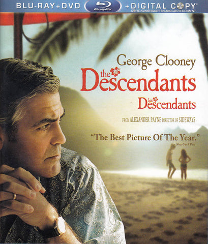 The Descendants (Blu-ray + DVD + Digital Copy) (Bilingual) DVD Movie