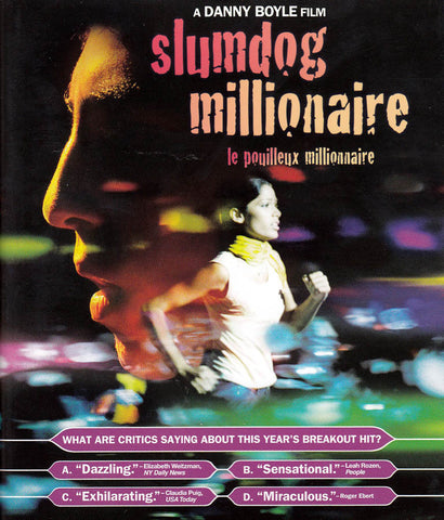 Slumdog Millionaire (+ Digital Copy) (Blu-ray) (Bilingual) BLU-RAY Movie