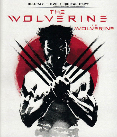 The Wolverine (Blu-ray + DVD + Digital Copy) (Bilingual) DVD Movie
