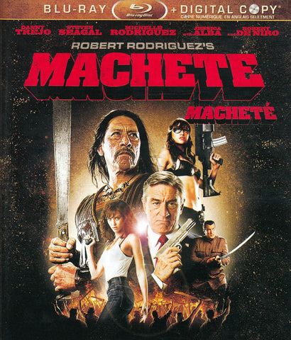 Machete (Blu-ray + Digital Copy) (Bilingual) DVD Movie